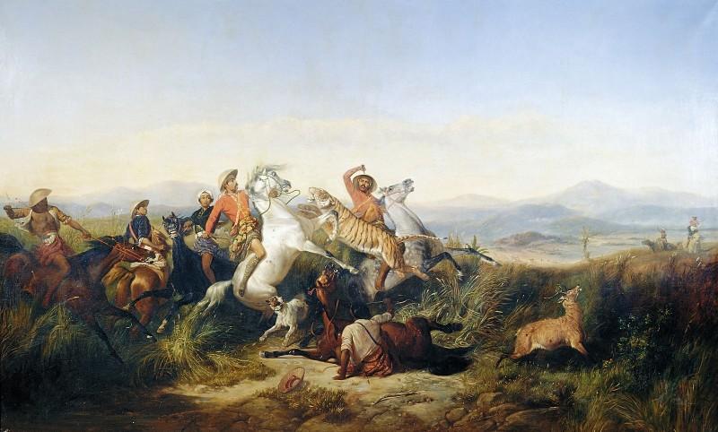 perburuan rusa raden saleh