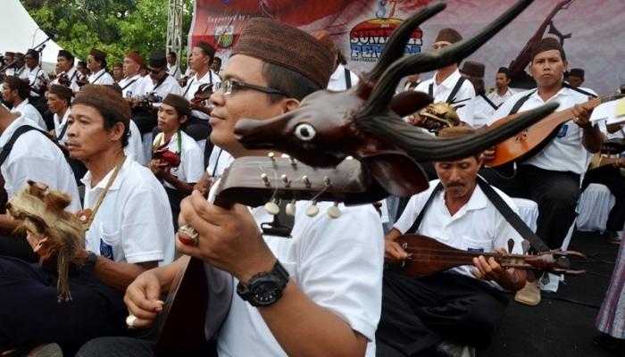alat musik tradisional bangka belitung