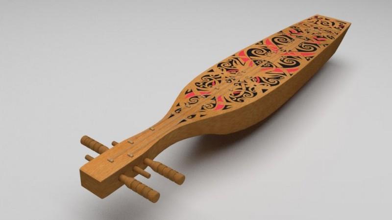 alat musik sampek