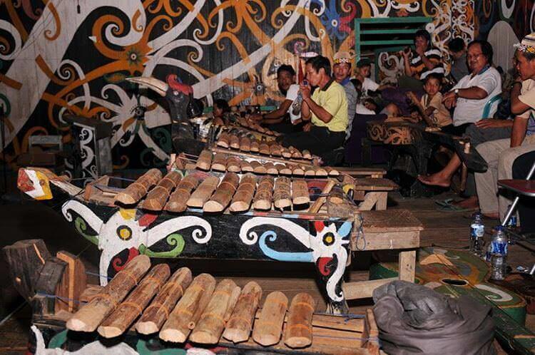 alat musik tradisional kalimantan utara
