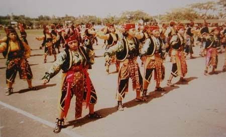 sejarah tari glipang