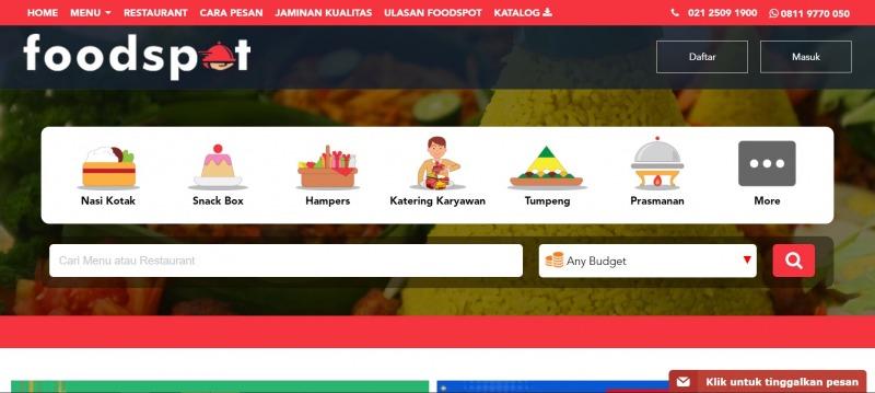 katering startup